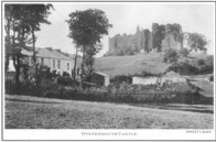 Oystermouth Castle.